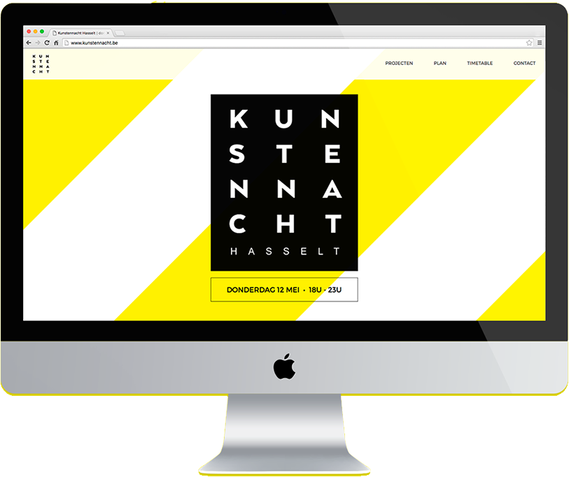 Kunstennacht - Website